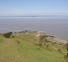 Brean view by kezbomb