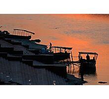 Rishikesh Evening Photographic Print
