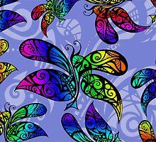 Butterfly Rain by MelDavies