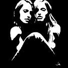 """Friends"" Moonlight Cameo Art by John D Moulton"
