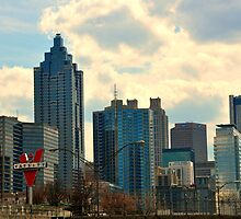Atlanta Skyline by reneehicks