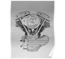 S&S Shovelhead Engine Poster