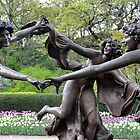 Three Dancing Maidens by Sarah McKoy