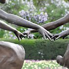 Reaching Hands by Sarah McKoy