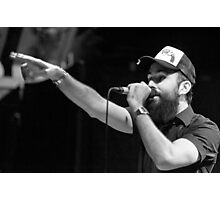 Dan Le Sac Vs Scroobius Pip Photographic Print