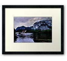 Afloat Under the Chief, Squamish, British Columbia Framed Print