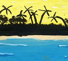 Painted Palms by Faith Miriam