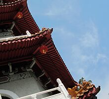 Chinese Pagoda by Nupur Nag