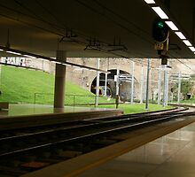 Metro station Oporto Portugal by Paul Pasco