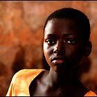Ghana School Girl by Robert Azmitia