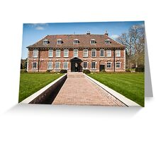 Hall Place 1537AD: Bexley, Kent. UK. Greeting Card