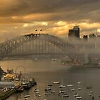 Play Misty  - Sydney Harbour (HDR Panorama) - The HDR Experience by Philip Johnson