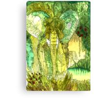 i-elephant_01 Canvas Print
