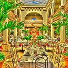 "Columbia Restaurant ""Patio"" by Robert Azmitia"
