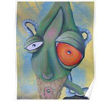 alien face  Poster