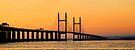 Severn Bridge at Sunset by buttonpresser
