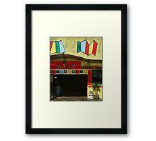 Jak Resto Framed Print
