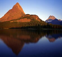 Swiftcurrent Lake  by Mike Norton