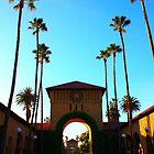 Stanford University Campus. An Archway to the Quad. California 2009 by Igor Pozdnyakov
