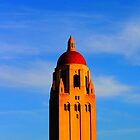 Stanford University Campus. Hoover Foundation Tower. California 2009 by Igor Pozdnyakov