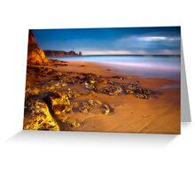 Dusk at Cape Woolamai Greeting Card
