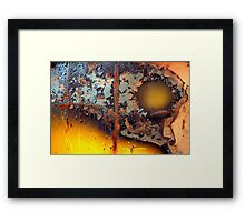 Dark Side of the Moon Framed Print