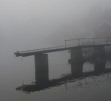 Misty pier II by julie08
