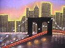 Brooklyn Bridge, New York by MagsWilliamson