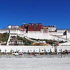 The Potala Palace in Lhasa, Tibet by jihyelee