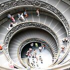 """Vatican Staircase-Vatican City,Italy"" by grsphoto"