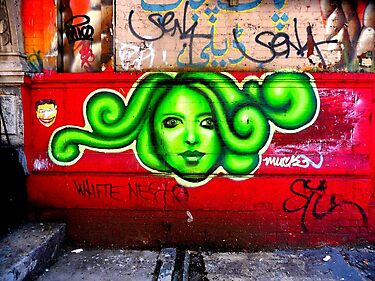 oh beautiful green medusa by ShellyKay