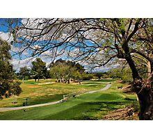 Golf Course View Photographic Print