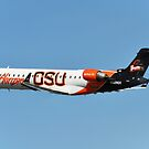 Horizon Air, Oregon State University Beavers  by Bob Hortman