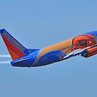 Southwest Airlines NBA Slam Dunk  by Bob Hortman