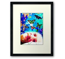 Gently Into Dreaming Framed Print