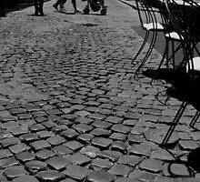 Strade Romane (Roman Streets) by foto