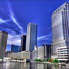 Tampa Cityscape_02 by Robert Azmitia