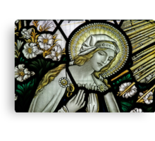 The Annunciation to the Blessed Virgin Mary Canvas Print