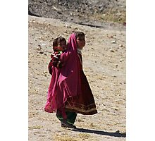 Sisters (Afghanistan) Photographic Print