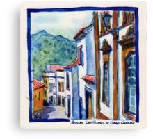 Arucas, Las Palmas de Gran Canaria Canvas Print
