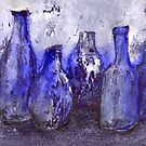 blue bottles by agns trachet