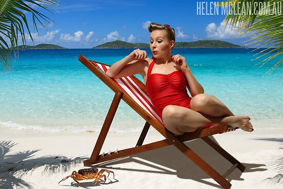Hot in the tropics III (Ouch!) by Helen McLean
