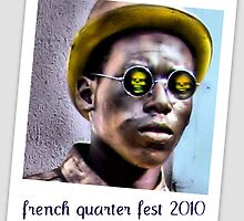 french quarter fest mime by leapdaybride