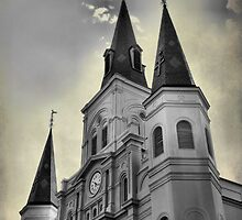st louis cathedral  by leapdaybride
