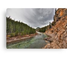 Elbow canyon Canvas Print