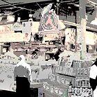 Pike Place Market  by MrJakk