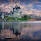 Kilchurn Castle , Loch Awe, Argyll by David Mould