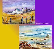 A landscape fantasy by Elizabeth Kendall