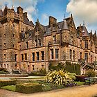 Belfast Castle in the cold light of day. by Peter Ellison