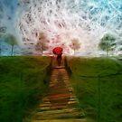 Umbrella girl by filipesanttana